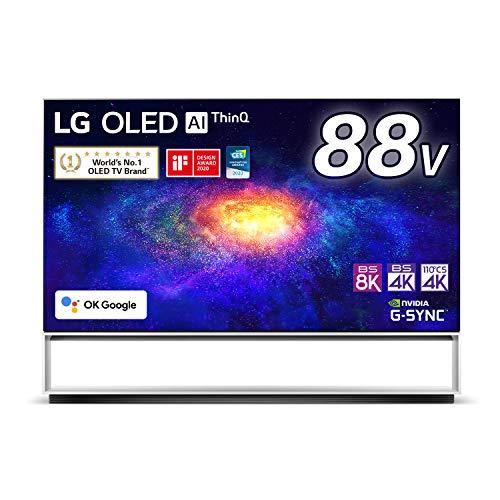LG 88型 8Kチューナー内蔵 有機EL テレビ OLED 88ZXPJA Alexa 搭載 2020 年モデル