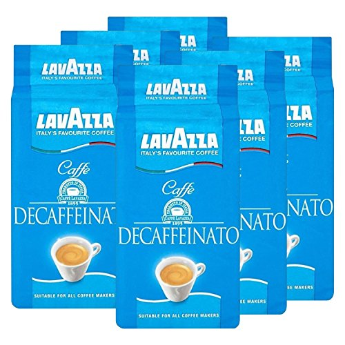 Lavazza DEK Kaffee, Decaffeinato, gemahlener Bohnenkaffee (6 x 250g)
