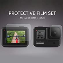 Mainstayae HD Tempered Glass Film Set for Go Pro HERO 8 Black Camera Lens Screen Protector Dust-proof Protective Film Sports Action Video Camera
