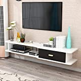 Meuble TV flottant Meuble TV suspendu Meuble TV mural Meuble TV suspendu Divertissement Media Center Console de stockage...