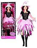 MATTEL BARBIE poupée SORCIERE HALLOWEEN FASHION SPELL rose pink - 2008