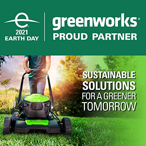 Greenworks G-MAX 40V 17 inch Brushed Mower with 4Ah Battery and Charger 2508302