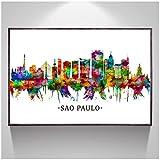 SYBS Leinwand Malerei Sao Paulo Brasilien Australien Turin