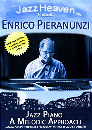 Jazz Piano Lernen Lehr-DVD Enrico Pieranunzi Jazz Piano A Melodic Approach Video Jazz-Piano Improvisation Noten Akkorde Technik Harmonik Jazz-Theorie Unterricht Workshop Übungen Spielen Jazzpiano Jazz Klavier