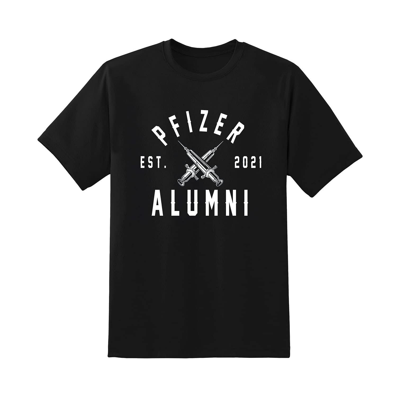 Pfizer Alumni Vaccine 2021 T-shirt Sweatshirt Ranking TOP15 Denver Mall Sleeve Long Hood