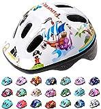 Casco Bicicleta Bebe Helmet Bici Ciclismo para Niño - Cascos para Infantil Bici Helmet para Patinete Ciclismo Montaña BMX Carretera Skate Patines monopatines MV6-2 (XS(44-48cm), Pirate)