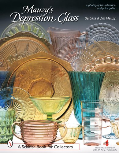 Compare Textbook Prices for Mauzy's Depression Glass: A Photographic Reference with Prices Schiffer Book for Collectors 4th Revised, Expanded ed. Edition ISBN 9780764322495 by Mauzy, Barbara & Jim