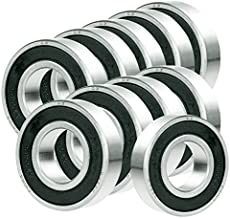 10x 63/22-2RS Ball Bearing 22mm x 56mm x 16mm Rubber Seal Premium RS 2RS NEW