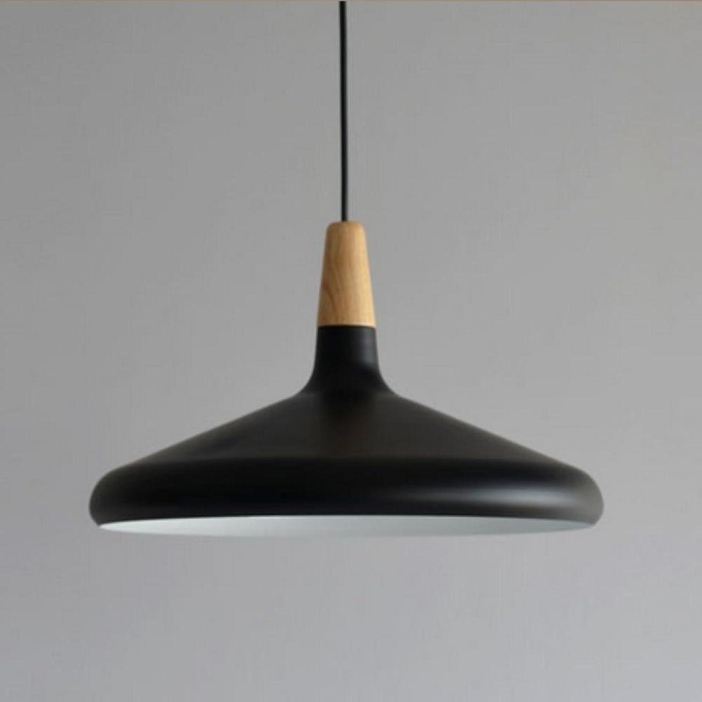 Xh&Yh Designer moderne Big décorative d'intérieur Aluminium Suspendu rétro éclairage créatif Simplicité restaurant, noir, C