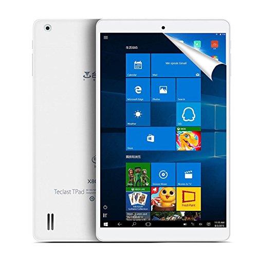 TECLAST X80 Plus 8' IPS Screen Windows 10 Android 5.1 Cherry Trail Intel Z8300 64 bit CPU 2GB RAM 32GB ROM Tablet PC with HDMI