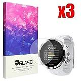 Ceston 9H Panzerglas Bildschirmschutzfolie Für SmartWatch Suunto 9 Baro (3 Pack)