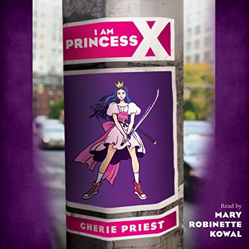 I Am Princess X audiobook cover art