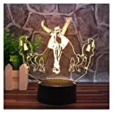 Carl Artbay Music Dancer Michael Jackson Creative Night Light 3D LED Home Office Decoration Bedside Lamp Touch Remote Control 16 Color Acrylic USB/Battery Creative Gifts (Michael Jackson)