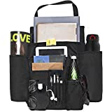 DriverSuperDreams Car Front Seat Organizer with 11 Pockets (20'X16') - Passenger Seat Organizer - Vehicle Storage Caddy with Dedicated Tablet/Laptop Storage