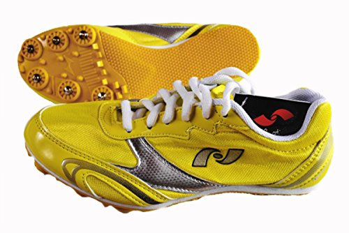 JF-Sports Allround-Spikes Snake (gelb, 37)