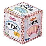 Origami-Papier - Origami-Papier gemustert Set (Chiyogami) - Senbazuru (1000 Kraniche) - Asanoha Muster - 15 Farben sortiert - 1005 Blatt - 7cm x 7cm