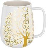 amapodo Kaffeetasse groß - Porzellan Tasse mit Henkel 600ml - XXL Büro Kaffee Tasse - Jumbo Kaffeebecher Weiß - Geschenkidee für Frauen Männer