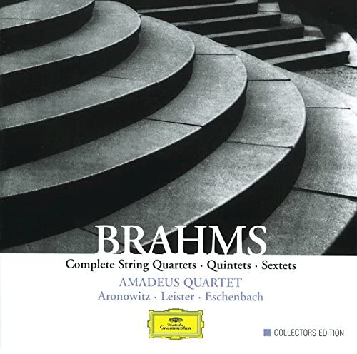 Amadeus Quartet, Cecil Aronowitz, Karl Leister, Christoph Eschenbach & Johannes Brahms