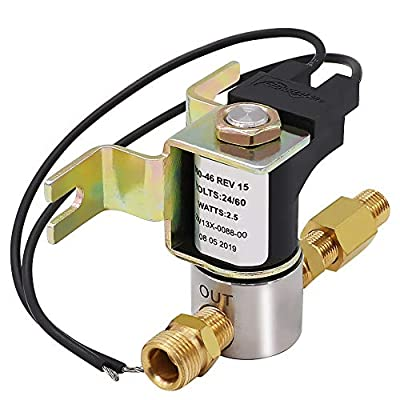 Primeswift 990-53 Water Inlet Solenoid Valve 24 Volts Compatible with GeneralAire Humidifier 1042 1042L 1042LH 1137