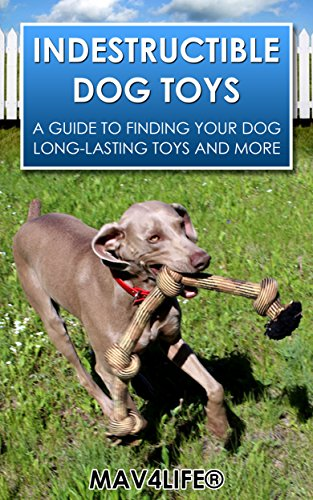 INDESTRUCTIBLE DOG TOYS: A Guide to Finding Your Dog  Long-Lasting Toys and More (Indestructible, Dog Toy, Breeds, Dogs, Puppies, Dog Training) (English Edition)