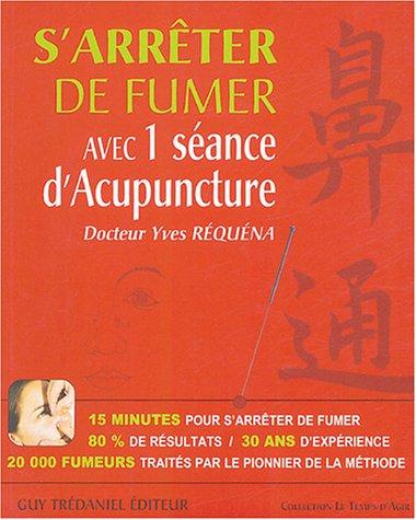 S'arrêter de fumer avec 1 séance d'Acupuncture