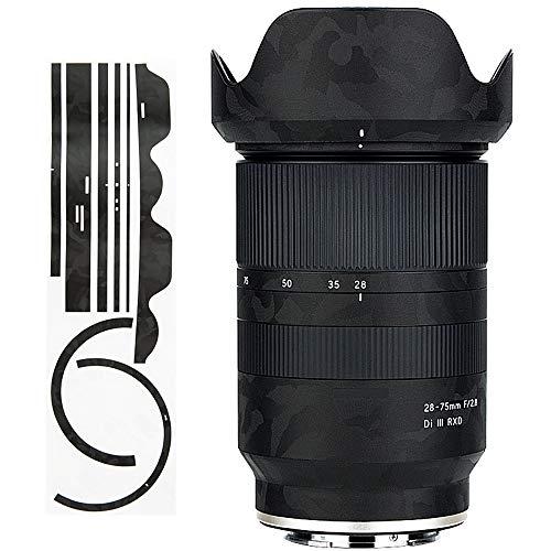 カメラレンズ 保護レザーフィルム タムロン Tamron 28-75mm F2.8 Di III RXD (A036) & オリジナルレンズフ...