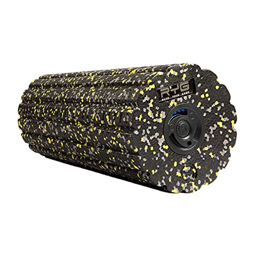 Raise Your Game Electric Foam Roller, Vibrating and Yoga Muscle Massage Stretch Point Fitness Post Workout Recovery