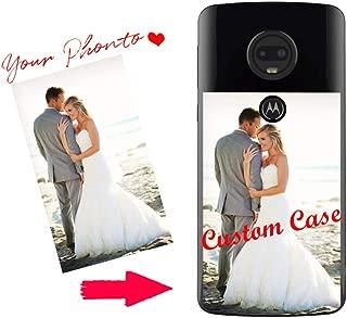 Custom Moto E5 Plus Case,Personalized Customized Phone Case Cover for Moto G3/G4 Plus/G5S/G6 Plus/G5/G7 Power/M/E3/E5/Z3/Z2 Play Case,Custom Picture Ultra Thin Soft Silicone TPU (Moto E5 Plus)