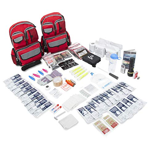 Emergency Zone 4 Person Family Prep 72 Hour Survival Kit