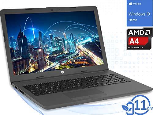 "HP 255 G7 (6QJ32UT) Laptop, 15.6"" HD Display, AMD A4-9125 Upto 2.6GHz, 4GB RAM, 500GB HDD, HDMI, Card Reader, Wi-Fi, Bluetooth, Windows 10 Home"