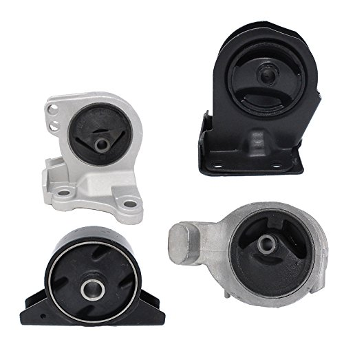 ENA Engine Motor and Trans Mount Set of 4 Compatible with 1999-2005 Mitsubishi Dodge Stratus Coupe 2.4L Automatic Trans A6699 A4621 A4612 A4602