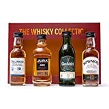 Whisky Gift Set - Talisker Whisky, Jura Whisky, Glenfiddich Whisky and Bowmore Single Malt Whisky - 4 x