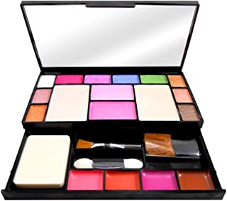 T.Y.A GOOD CHOICE INDIA Makeup Kit, 10 Eyeshadow, 2 Blusher, 2 Compact, 4 Lip Color, (6171), 23g With Hand Cleanser Sanatizer