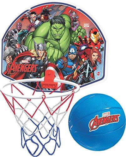 Tabela de Basquete Avengers Lider Brinquedos Azul/Vermelho