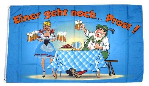 Fahne Einer geht noch! Prost Bier 90 x 150 cm Flaggen