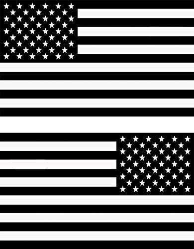 MAMA STICKER BUMPER VINYL DIE CUT SUBDUED BLACK AMERICAN FLAG 3