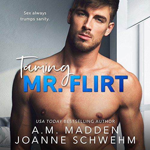 Taming Mr. Flirt audiobook cover art