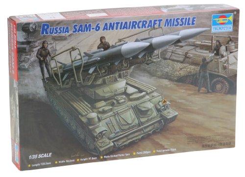 Trumpeter 361  - Rusa Sam-6 de misiles antiaéreos