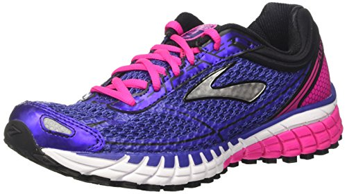 Brooks Damen Aduro 4 Laufschuhe, Blau (Spectrum Blue/pink Glo/Black), 36.5 EU