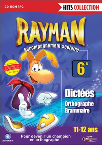 Rayman accompagnement scolaire 6ème 11-12 ans : Dictées, orthographe, grammaire