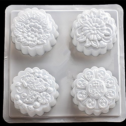 Giftshop12 Plastic Mooncake Mold Size Large