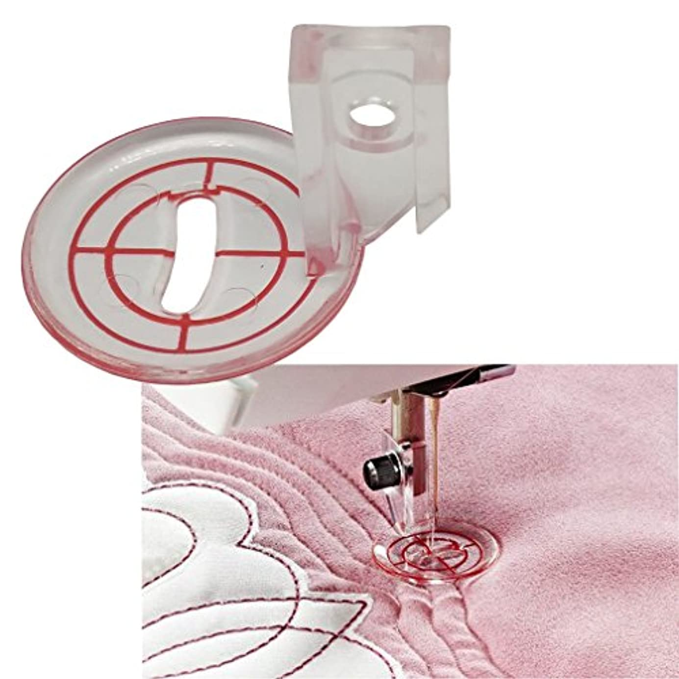 HONEYSEW Pressure Foot Free Motion Echo Quilt Foot for Viking #413320245 klilly9654