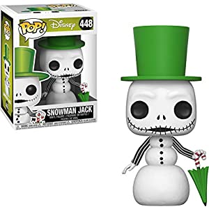 Funko - Pop! Disney: Nightmare Before Christmas - Snowman Jack Skellington Figura Coleccionable, Multicolor (32836) 6