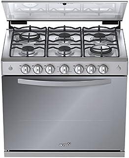 Estufa Emportable de Cocina Acros De Gas AE6600D de 80 cms cms en Titannio