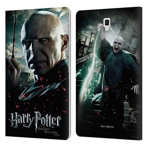 Head Case Designs Licenza Ufficiale Harry Potter Voldemort Deathly Hallows VIII Cover in Pelle a Portafoglio Compatibile con Galaxy Tab S4 10.5 (2018)