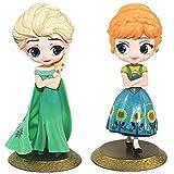 2pcs Princesa congelada Cake Topper Mini Juego de Figuras Niños...