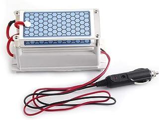 Generador de Ozono, Placa de Cerámica de Ozono Portátil para Automóvil de 12 v 10 g/h, Esterilizador de Aire Ozonizador, Bajo Consumo de Energía, con Descarga de Corona, para Uso Profesional de Bricol