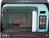 infunbebe Licht und Ton Mikrowelle Küche Spielzeug - mit Rollen Essen
