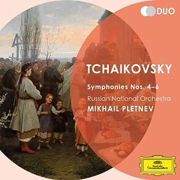 Tchaikovsky: Symphony Nos.4-6