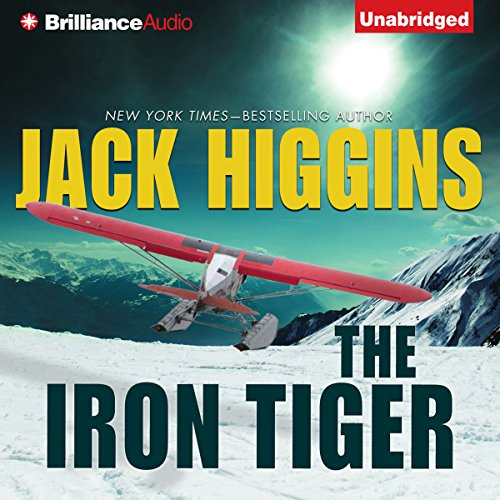 The Iron Tiger audiobook cover art